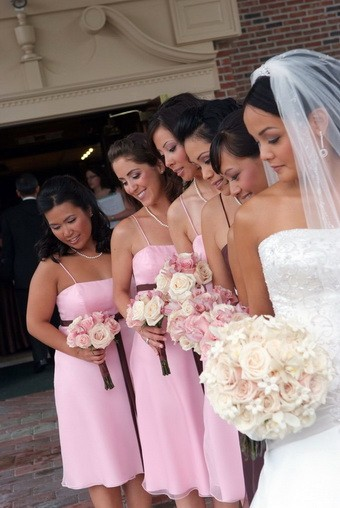 The Finishing Touch Wedding And Event Planning Rose Mike Pink Brown Chic