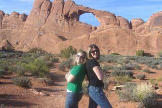 Girls at Canyon
