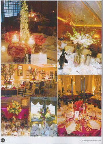 Contemporary Bride Fall 2009 Tablescapes 002