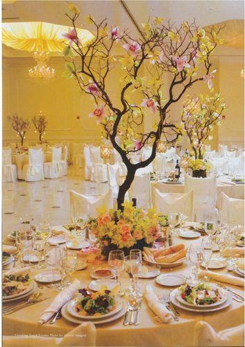 Contemporary Bride Fall 2009 Tablescapes1