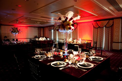 The Finishing Touch Event Design: Old Hollywood Glitz and Glamour ...